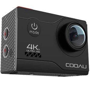 review camara cooau 4k 20mp wifi