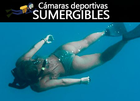 mejores cámaras acuáticas deportivas