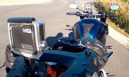 cámara deportiva para motos