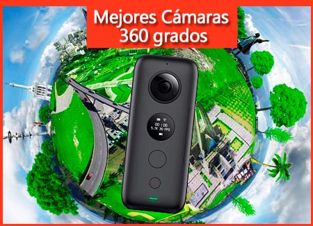 mejores cámaras 360 grados deportivas